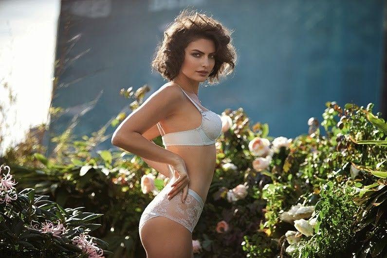 alyssa miller for intimissimi lingerie spring 2014 campaign