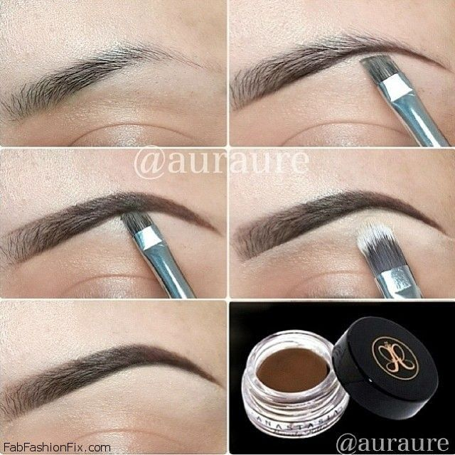 how to fix overplucked eyebrows video