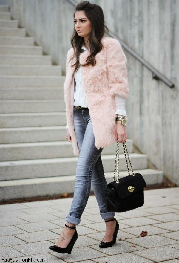 Style Watch How Fashion Bloggers Wear The Fur And Faux