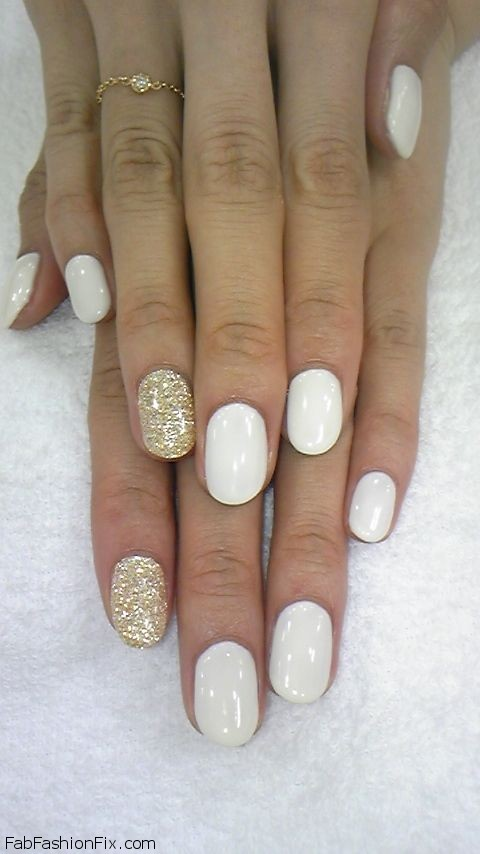 White nails & nail art inspirations