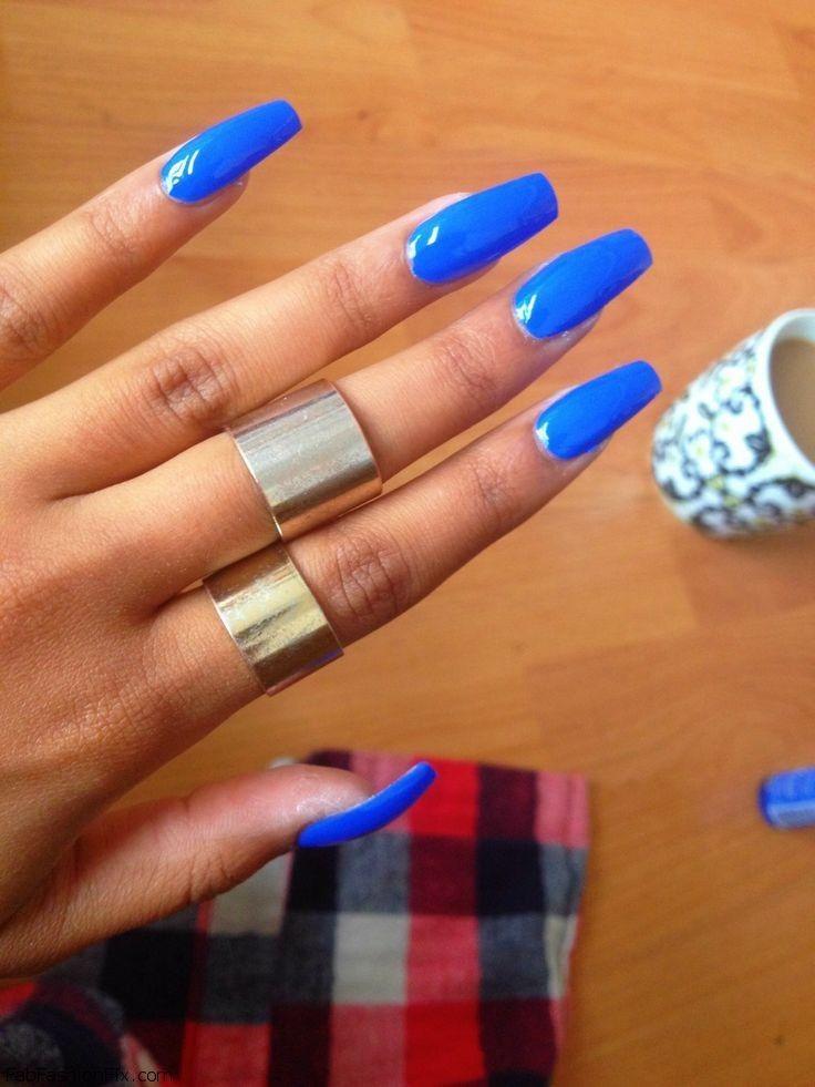 Blue Nail Polish Manicure Designs: Blue Nails & Nail Art Inspirations
