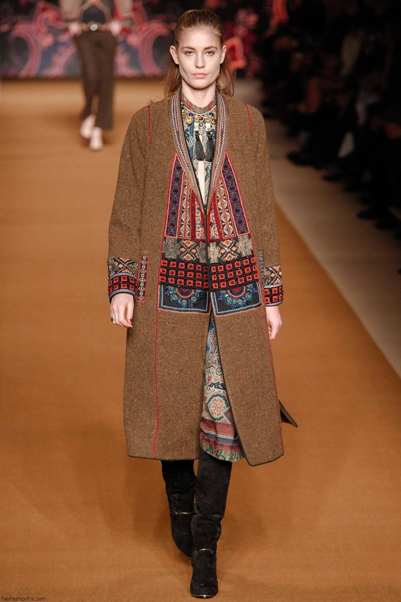 Etro Fall Winter 2014 Collection Milan Fashion Week Fab Fashion Fix