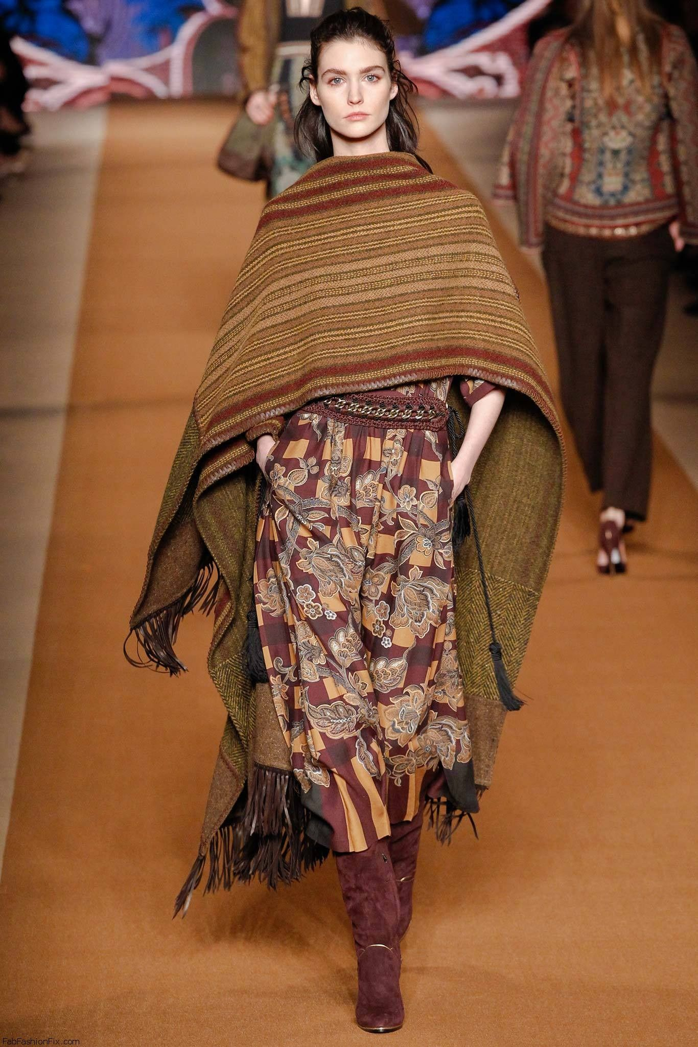 Etro fall/winter 2014 collection