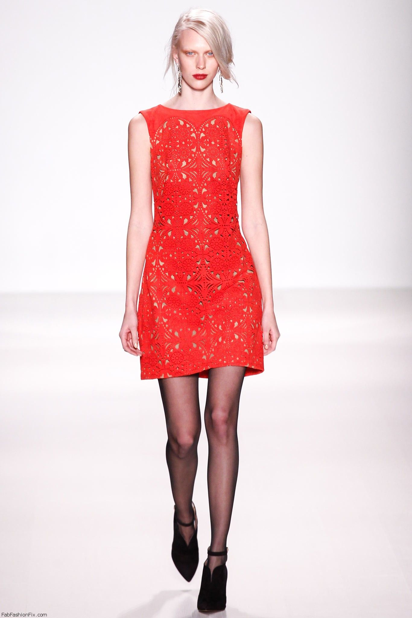 Tadashi Shoji Fall Winter 2014 Collection New York Fashion Week Fab Fashion Fix