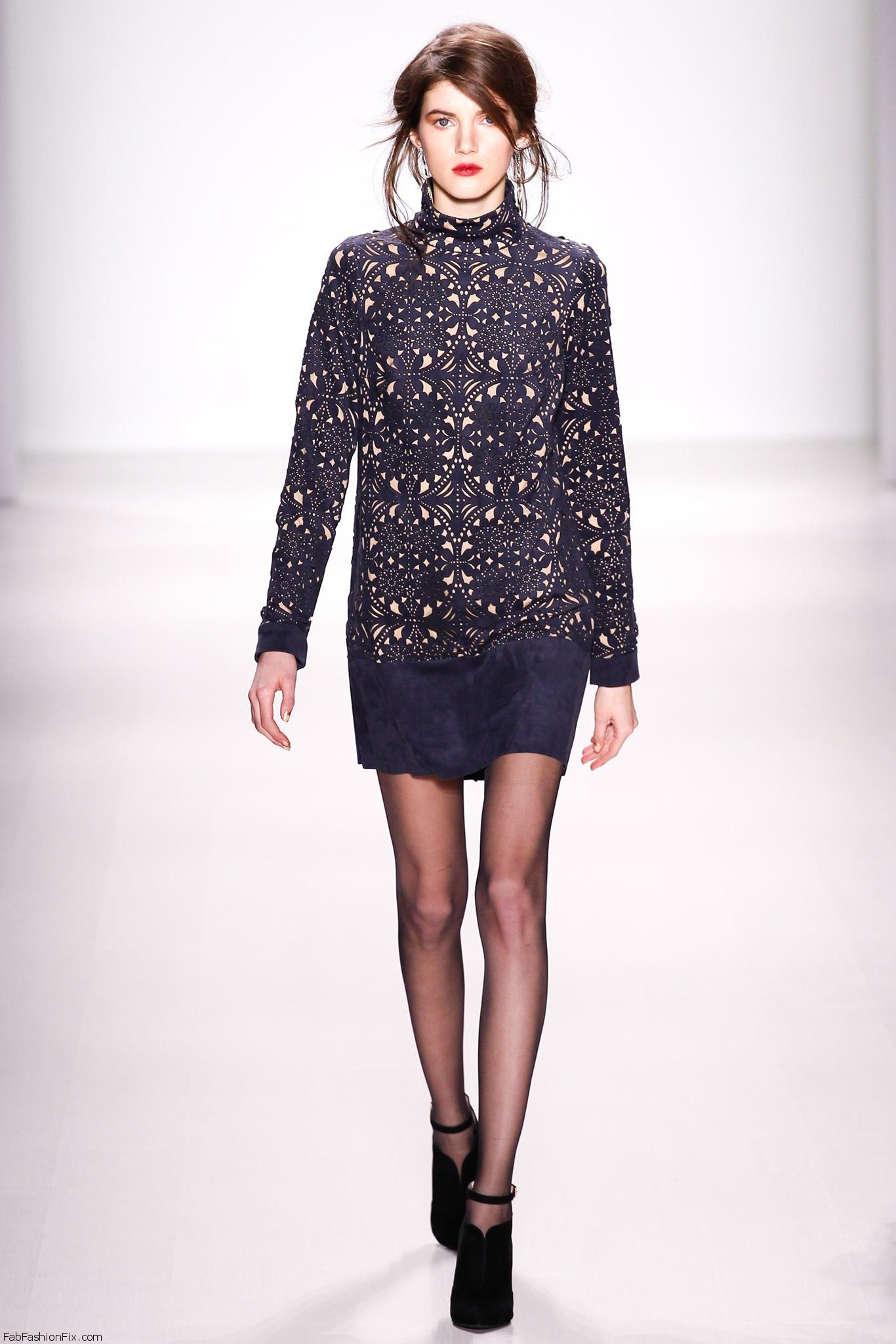 Tadashi Shoji Fall Winter 2014 Collection New York