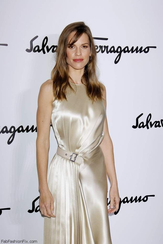 Hilary Swank - Salvatore Ferragamo FallWinter 2014 001