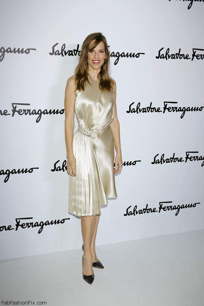 Hilary Swank - Salvatore Ferragamo FallWinter 2014 003