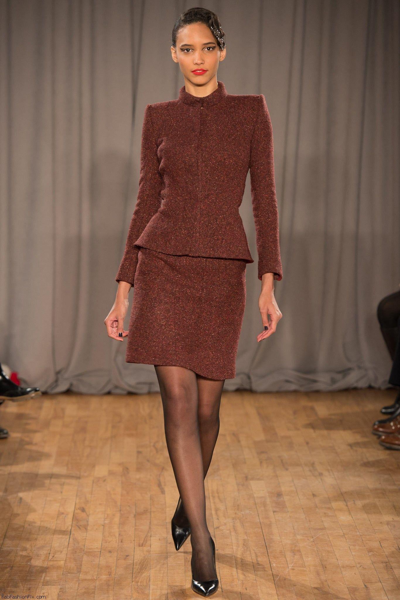 Zac Posen Fall Winter 2014 Collection New York Fashion