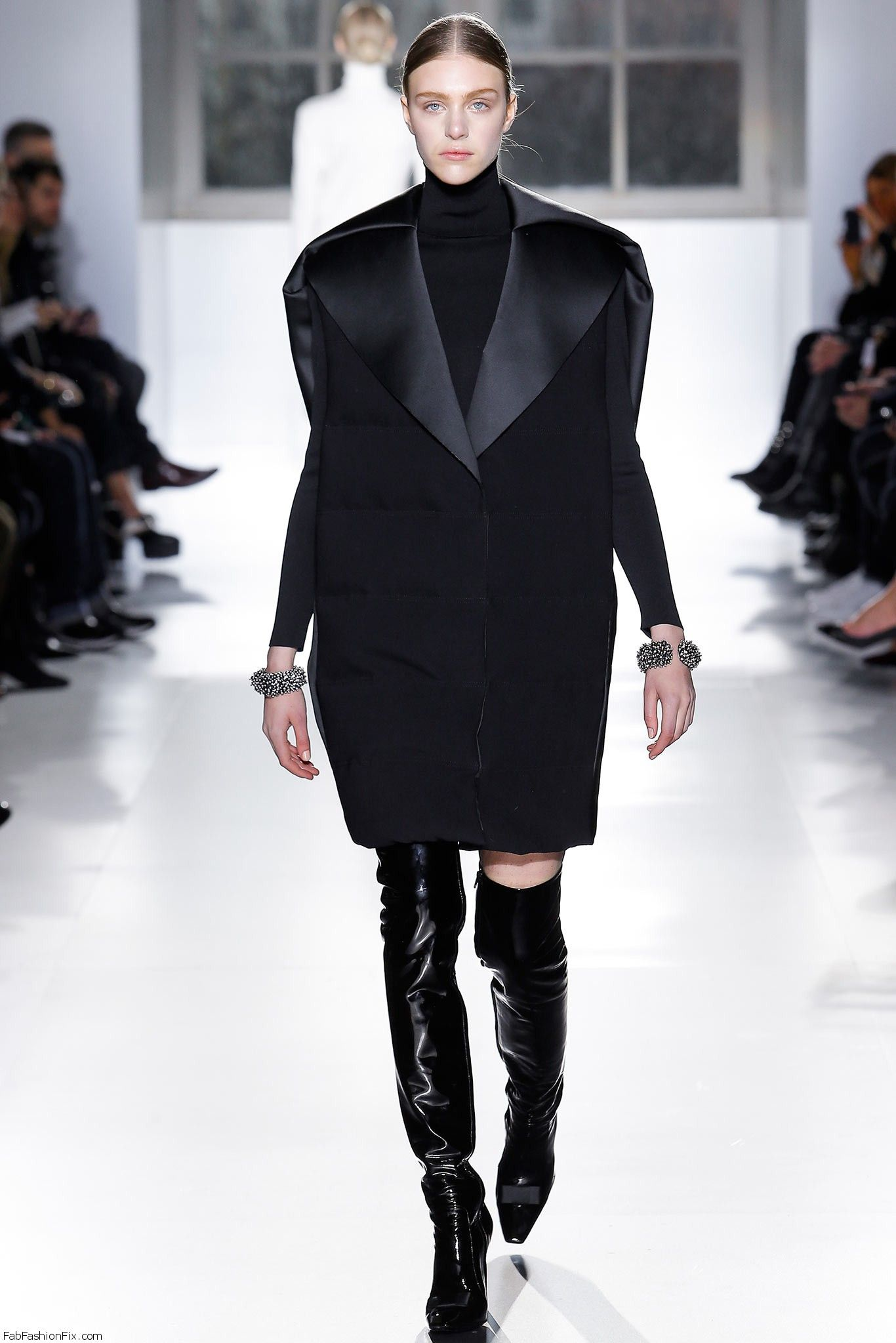 Balenciaga Fall Winter 2014 Collection Paris Fashion Week Fab Fashion Fix