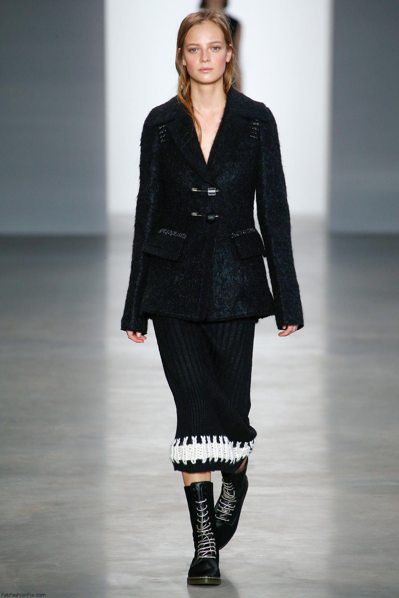 Calvin Klein Collection Fall Winter 2014 Collection New