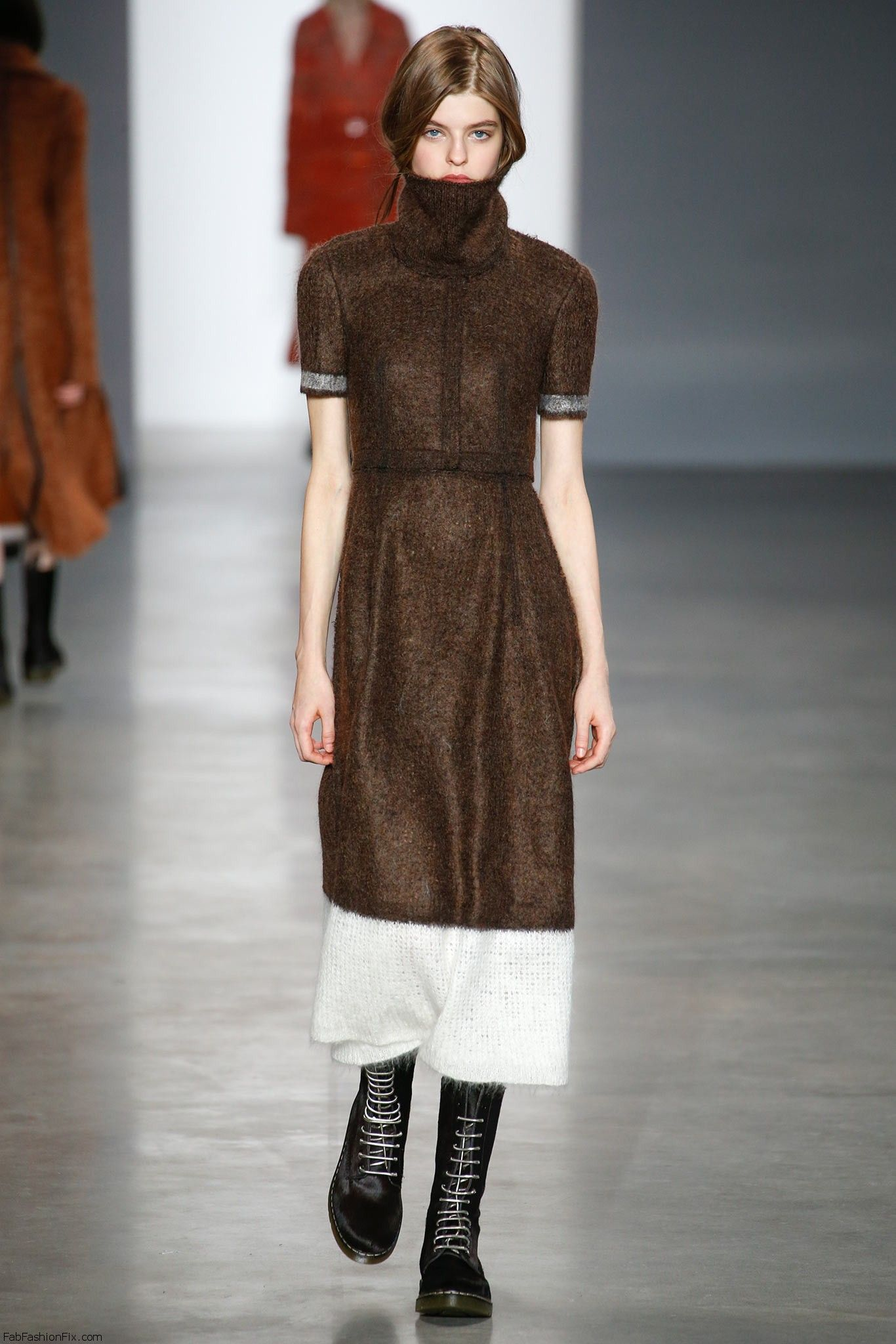 Calvin Klein Collection Fall Winter 2014 Collection New York Fashion Week Fab Fashion Fix