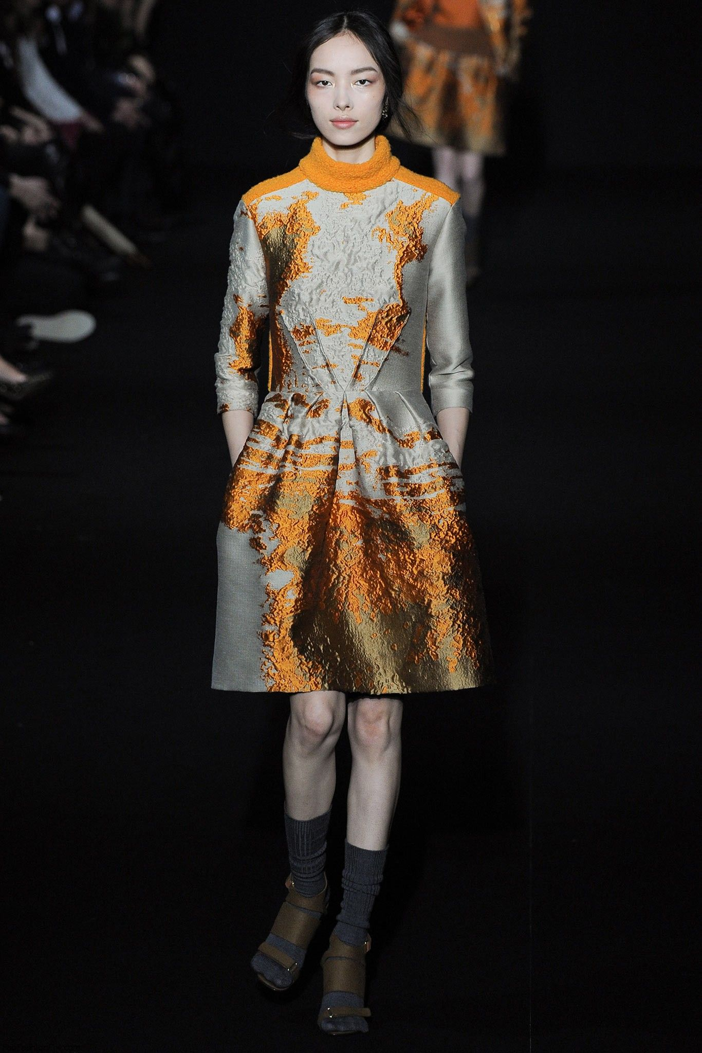Alberta Ferretti Fall Winter 2014 Collection Milan Fashion Week Fab Fashion Fix