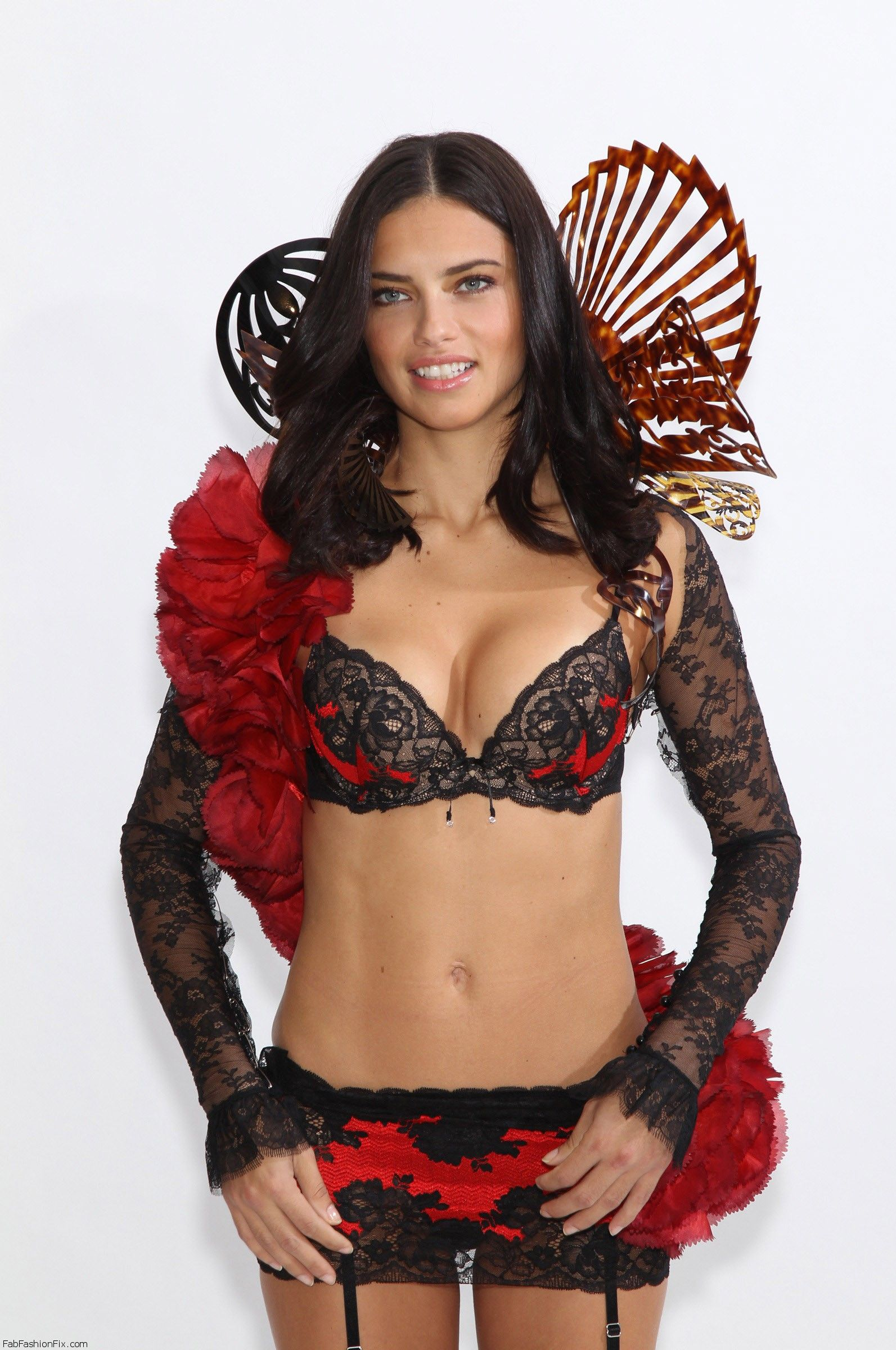 STUDIO VICTORIA'S SECRET LORS DU DEFILE