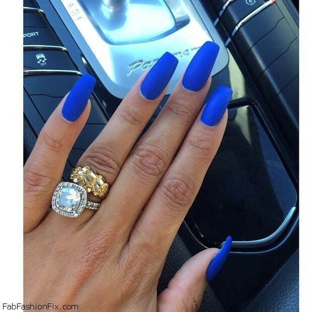 Matte Nails 2019 Trendy Designs for Long or   LadyLife
