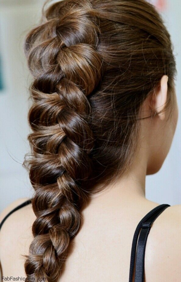 How To Do A Dutch Braid Or Inside Out French Braid Fab