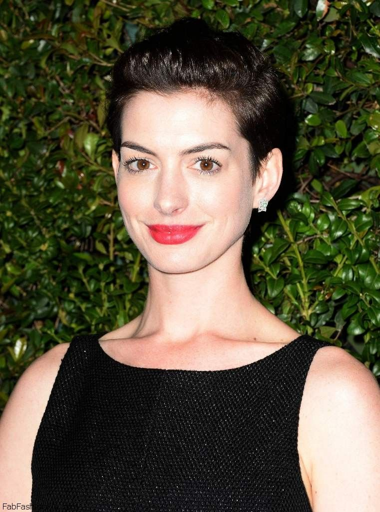 Anne Hathaway - Chanel Charles Finch Pre-Oscar Dinner 002