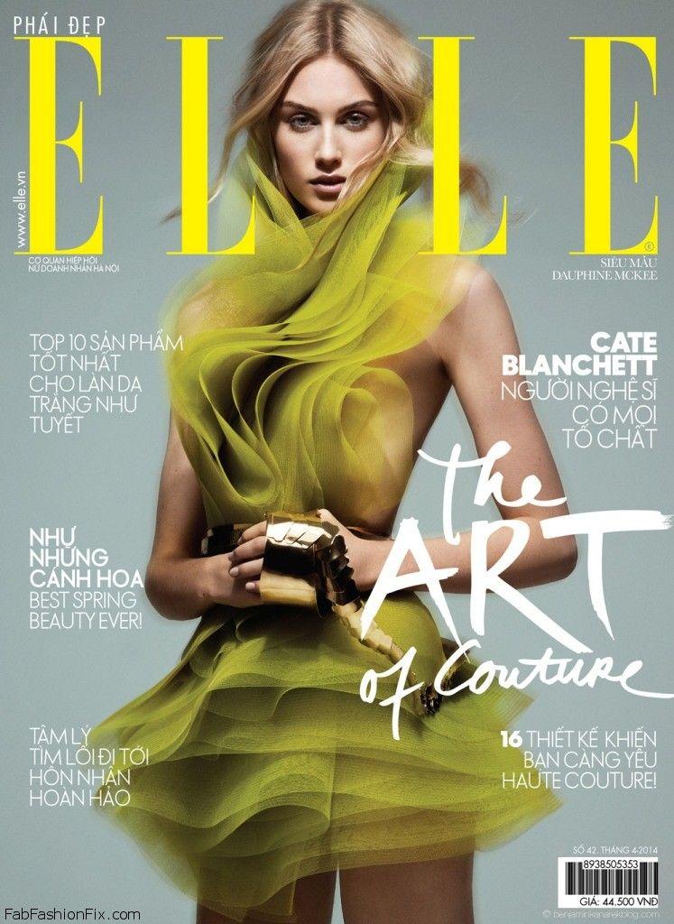 Cover-Dauphine-McKee-by-Benjamin-Kanarek-in-The-Art-of-Couture-ELLE-Vietnam-April-2014