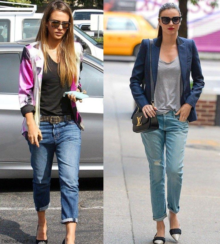 How to Wear Boyfriend Jeans - How Editors Wear Boyfriend Denim