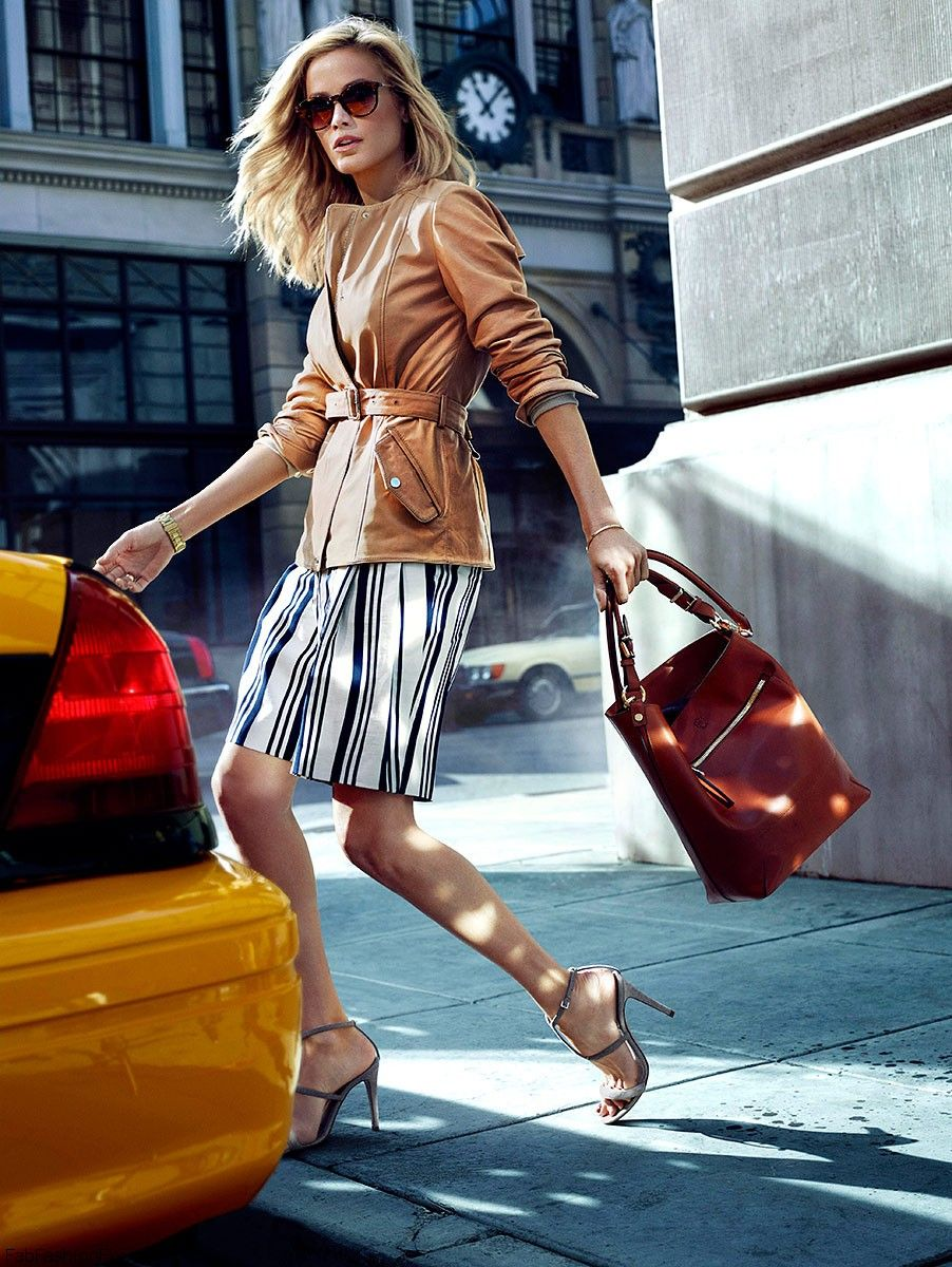 Massimo Dutti Quot Nyc Collection Quot Spring 2014 Campaign Fab