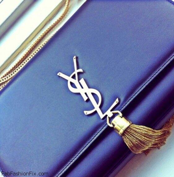 navy blue ysl
