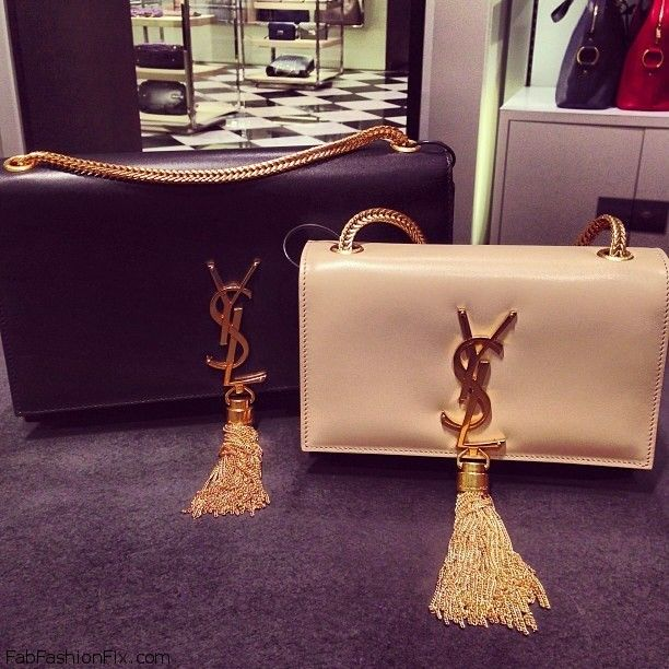 Introducing The Ysl Quot Cassandre Quot Handbags Fab Fashion Fix