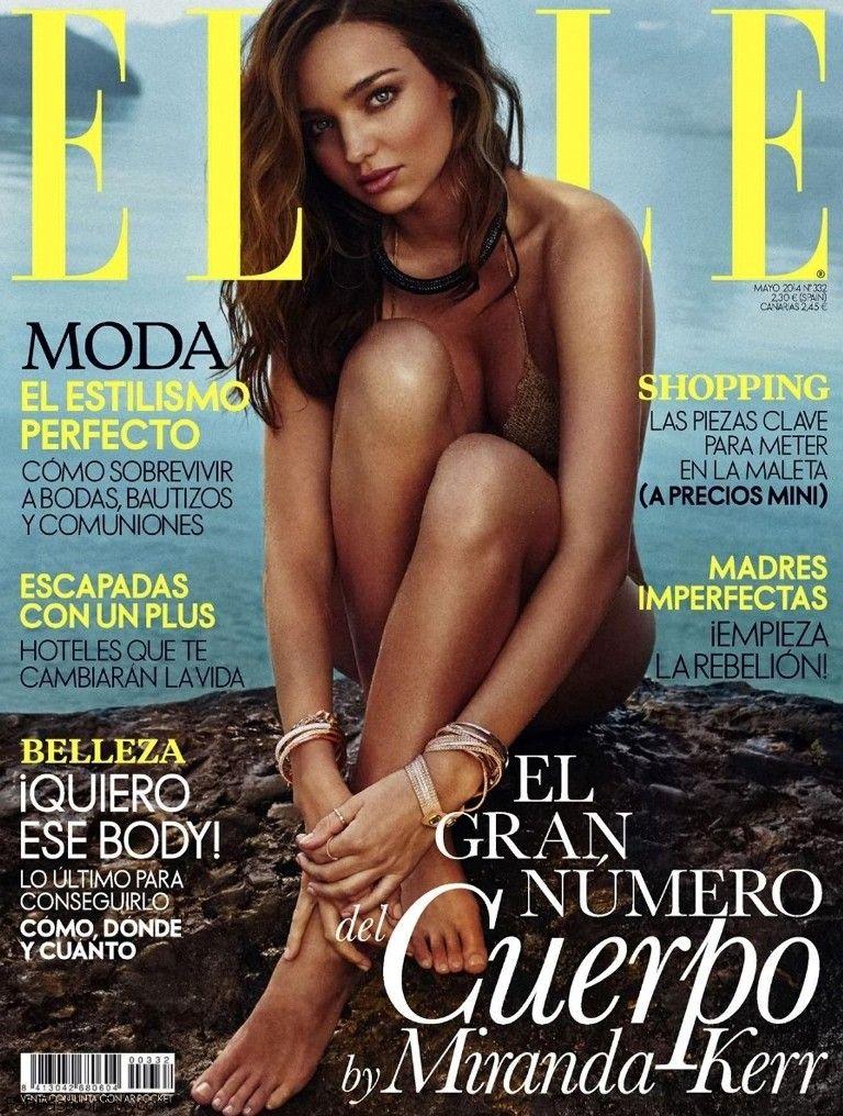 miranda kerr graces the cover of elle spain may 2014 fab fashion fix