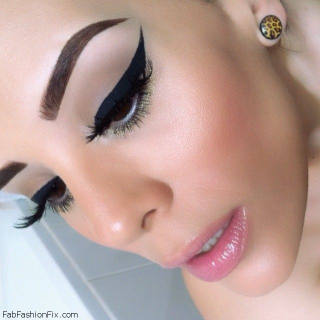 Dramatic And Graphic Eyeliner Makeup Look Tutorial Fab