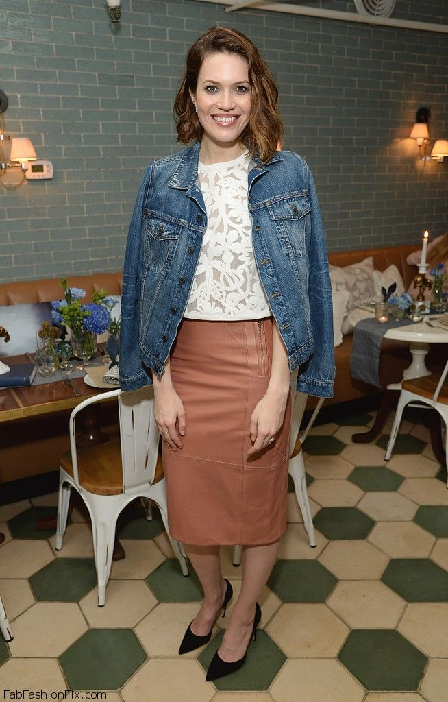 Style Watch How Celebrities Wear The Pencil Skirt This