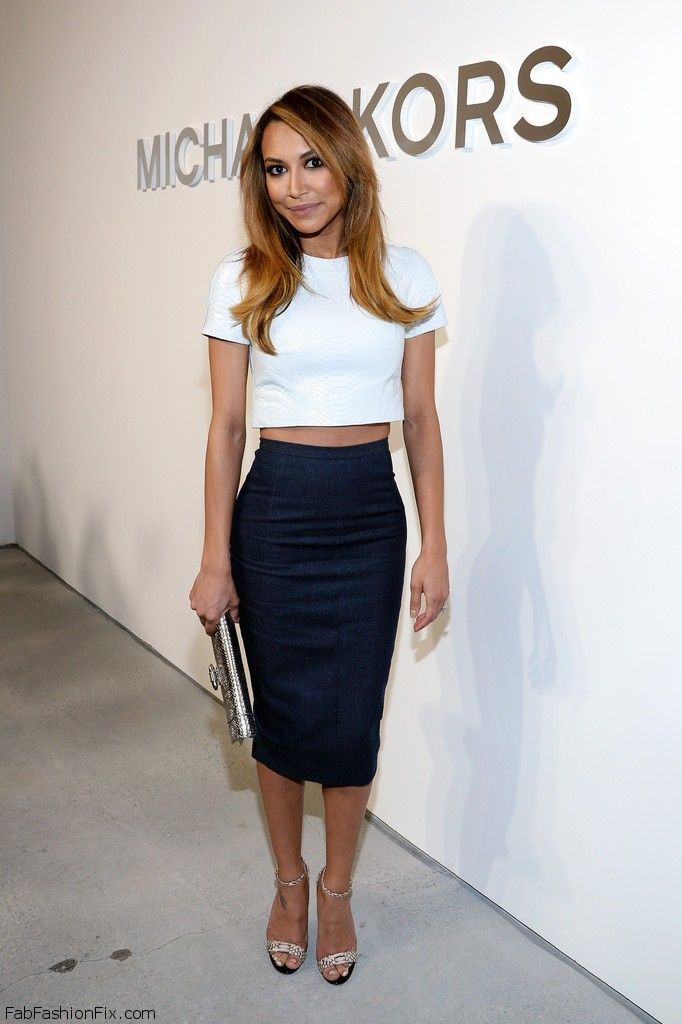 Style Watch: How celebrities wear the pencil skirt this spring ...