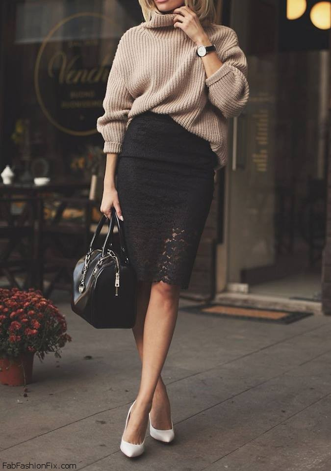 Style Guide: How to wear pencil skirt this spring? | Fab Fashion Fix