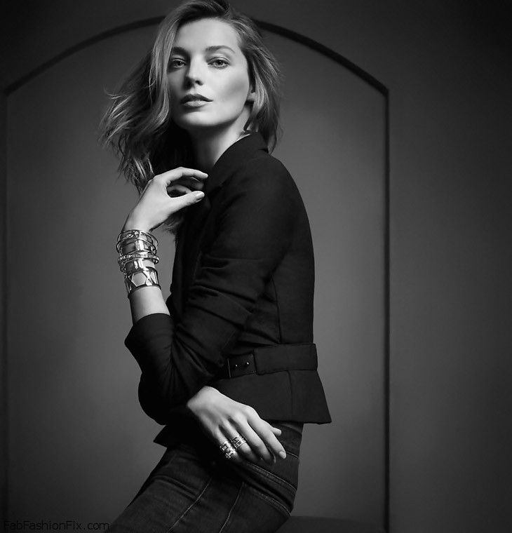 Daria Werbowy stars as the face of Tiffany & Co spring ...