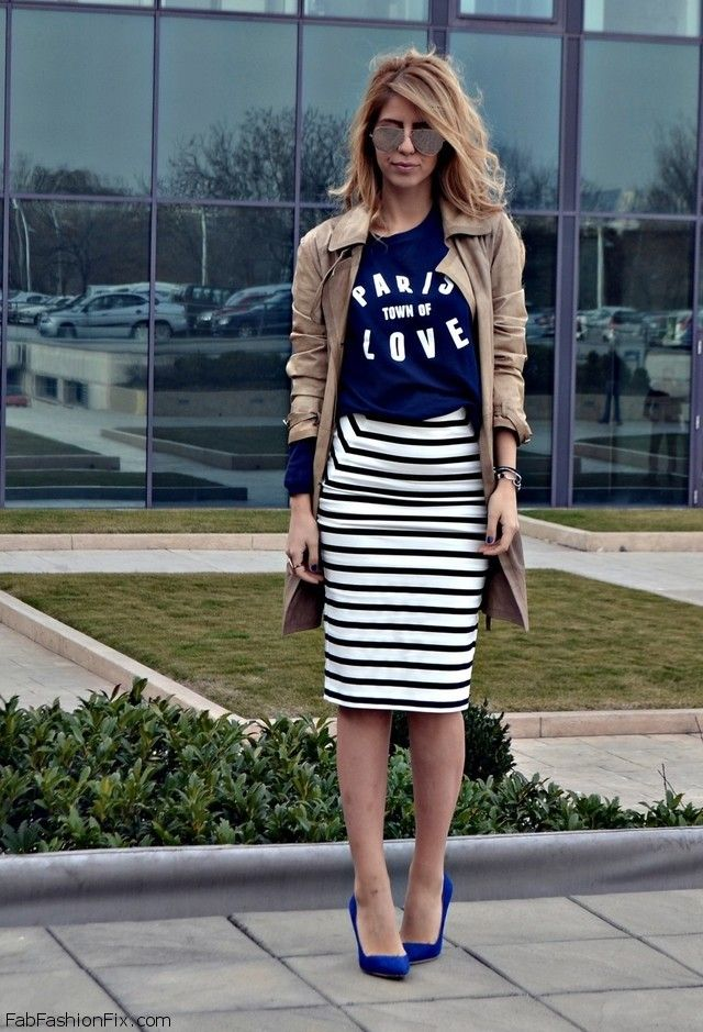 What shirt goes with a black pencil skirt – Modern skirts blog for you