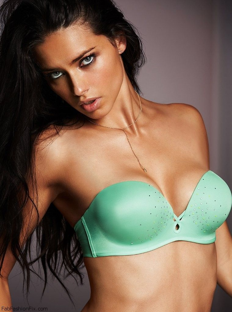 Adriana Lima For Victoria S Secret Lingerie May 2014