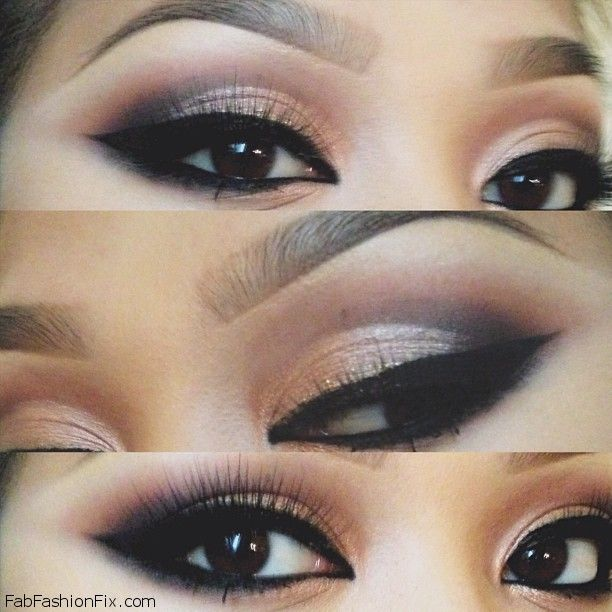 How To Do Cat Eye Makeup With Pencil Eyeliner Archives Fab Fashion Fix