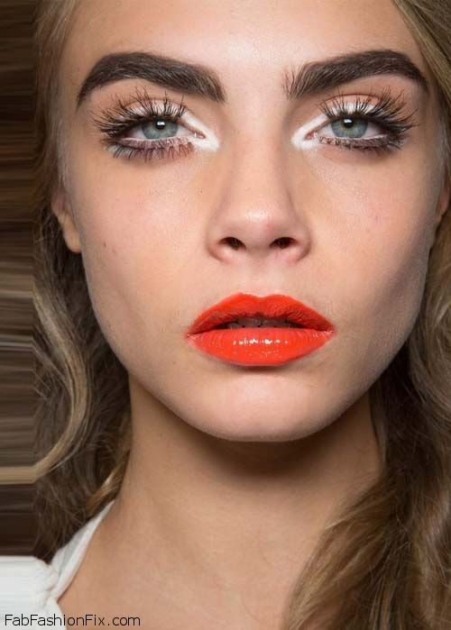 How To Wear An Orange Lip Makeup Look Tutorial