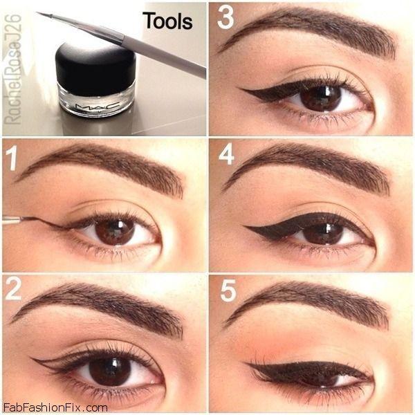eyeliner howto
