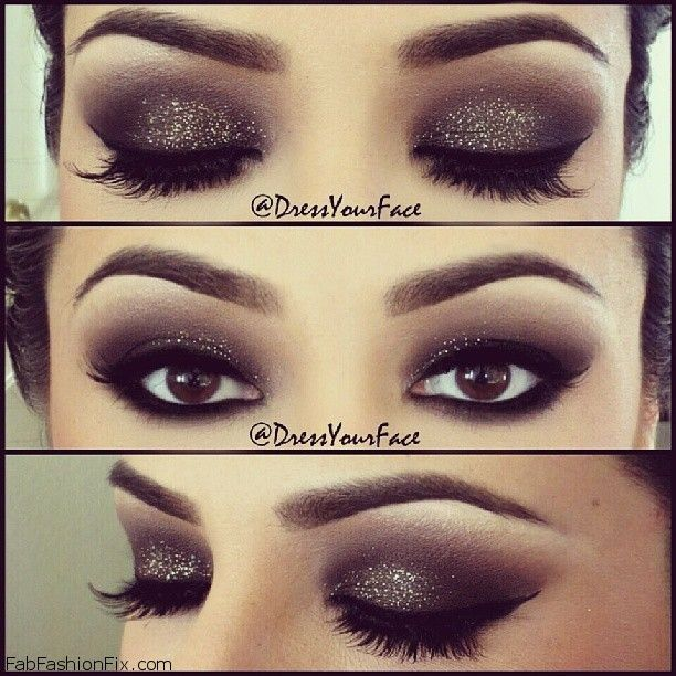 Black Smokey Eye Makeup Tutorial Archives Fab Fashion Fix