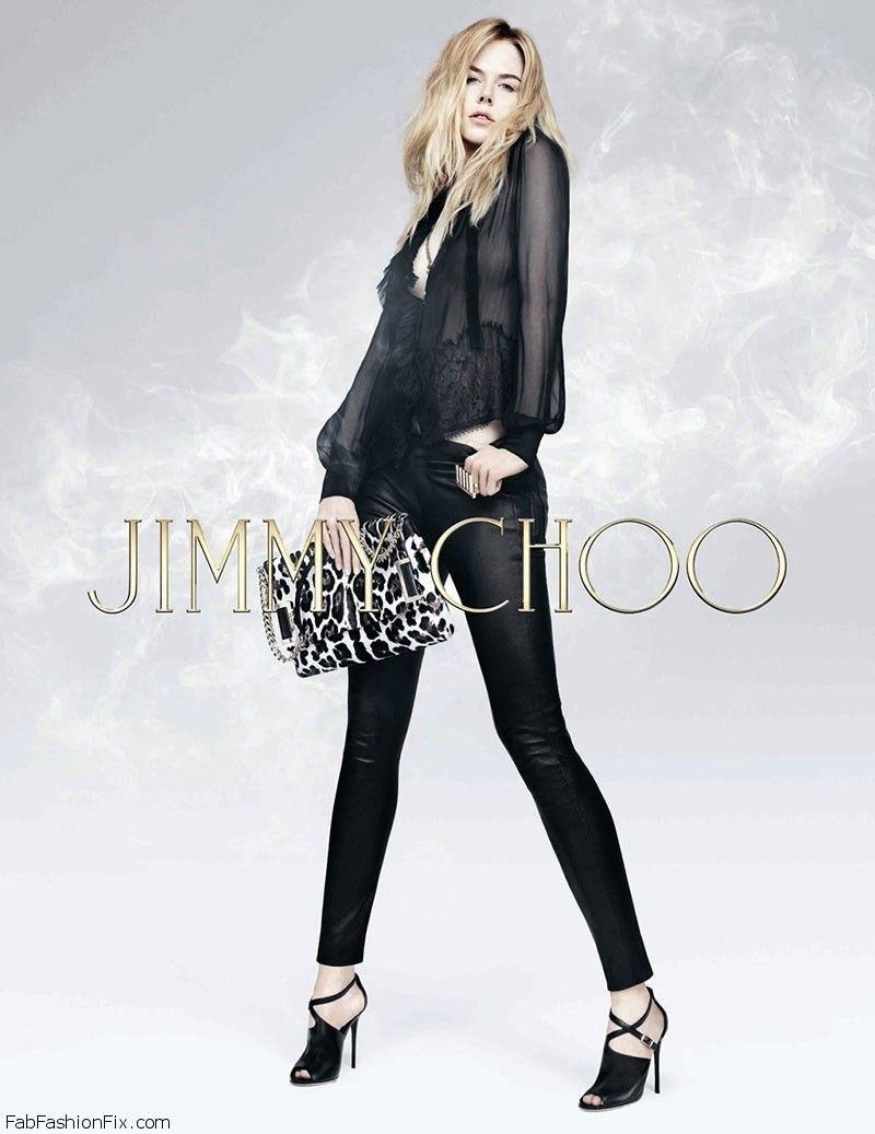 Kidman nicole for jimmy choo pre-fall campaign