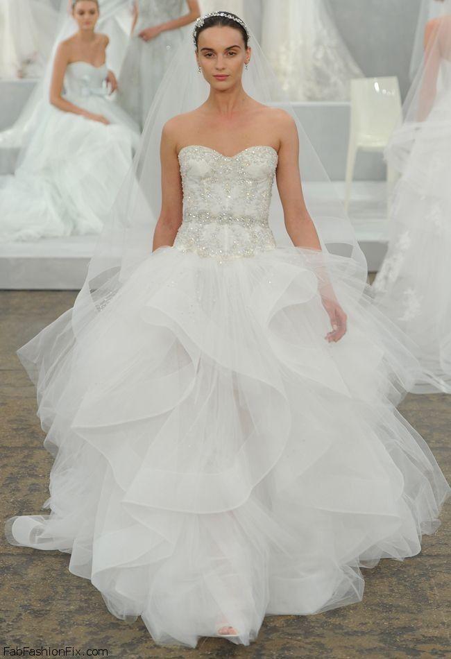 Monique Lhuillier Spring 2015 Bridal collection - Fab Fashion Fix