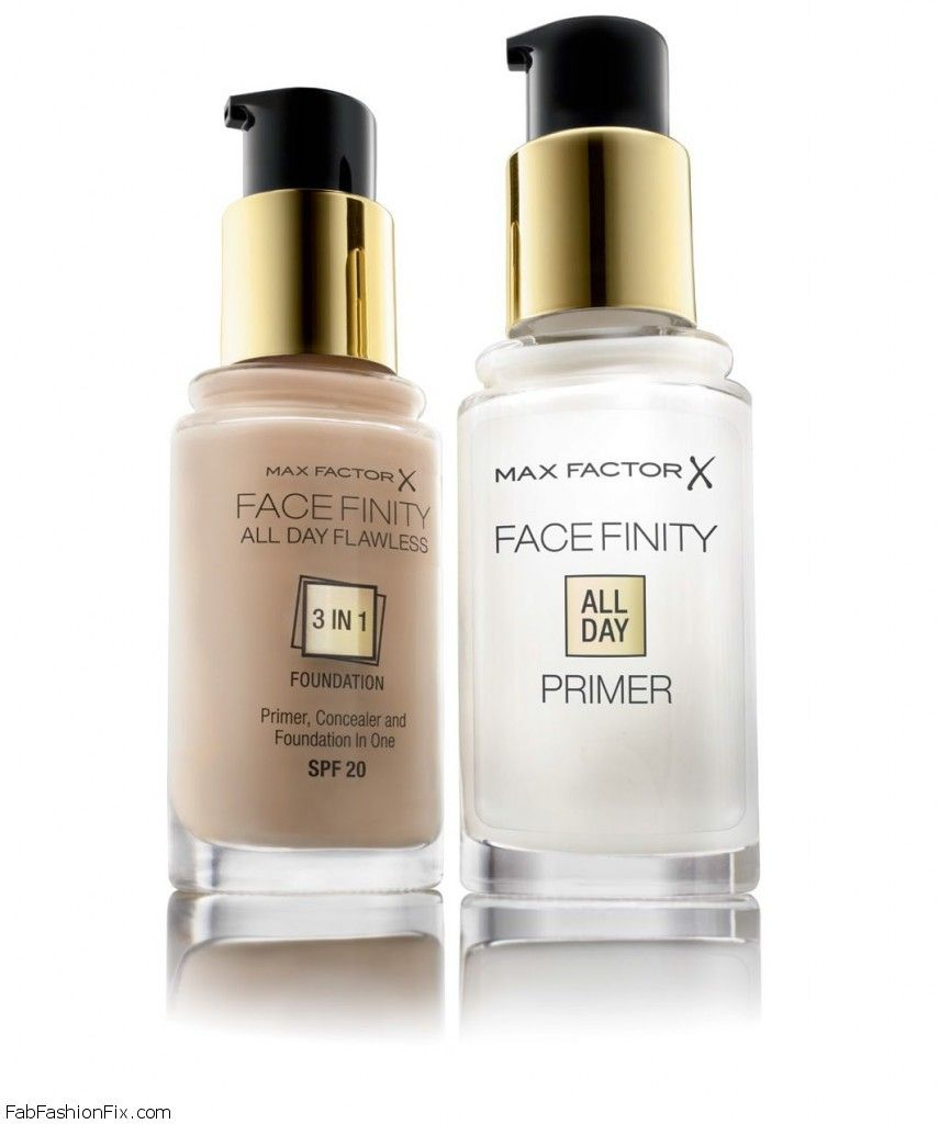 introducing the new max factor facefinity all day primer fab fashion fix. Black Bedroom Furniture Sets. Home Design Ideas