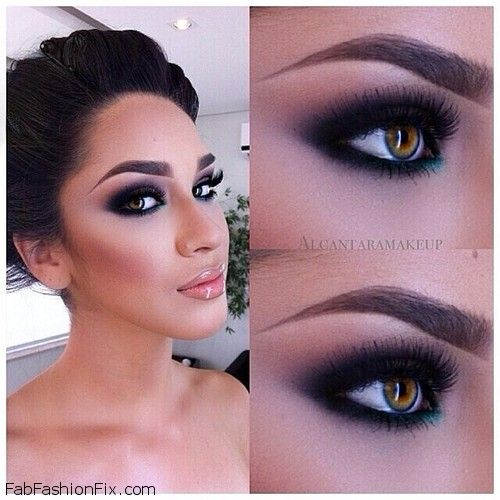 How to do classic smokey eye makeup look tutorial? - Fab ...