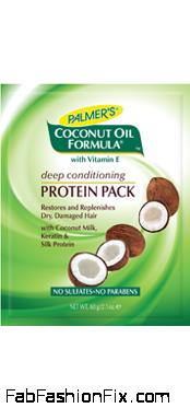 Palmer's Coconut Oil Formula Deep Conditioning Protein Pack new Large