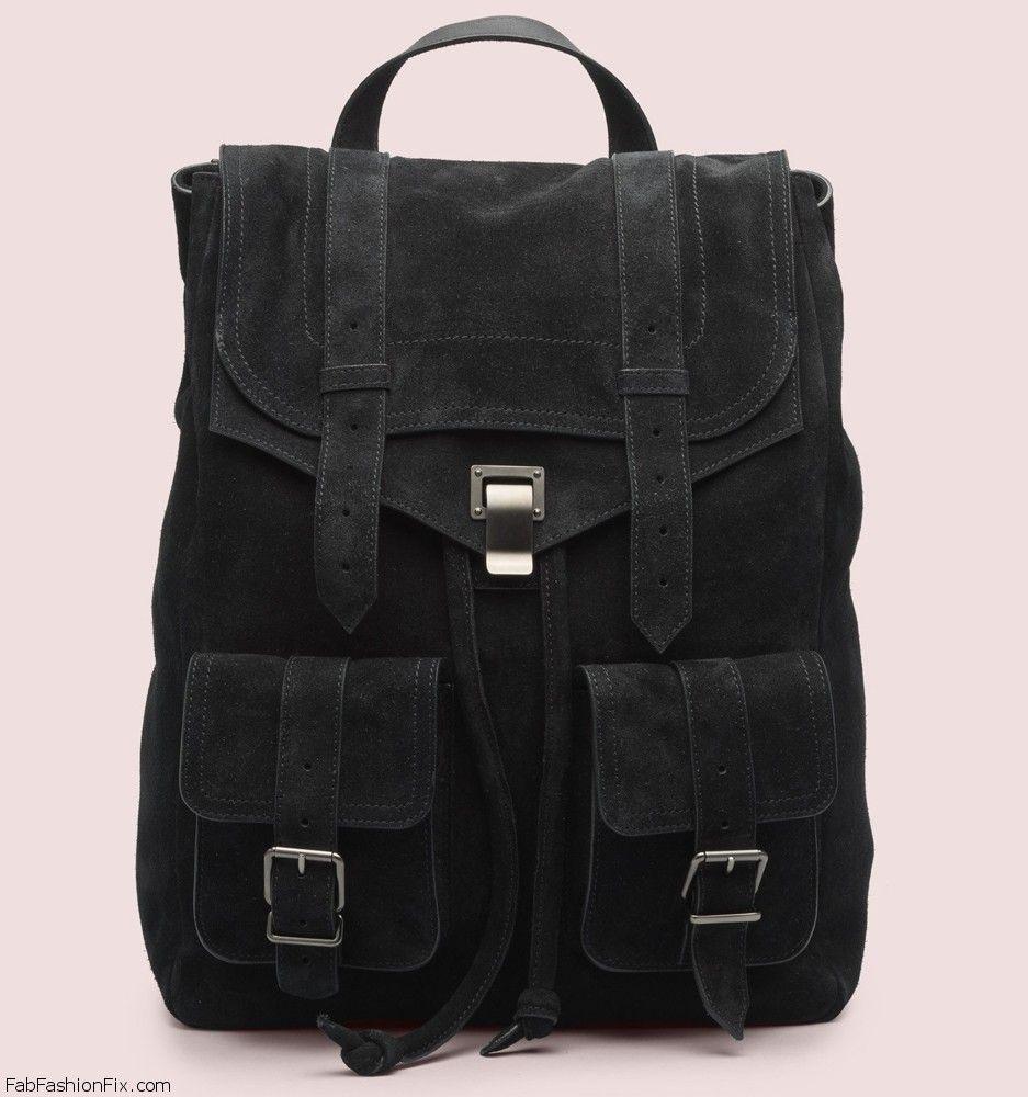 Proenza-Schouler-PS1-Suede-Backpack