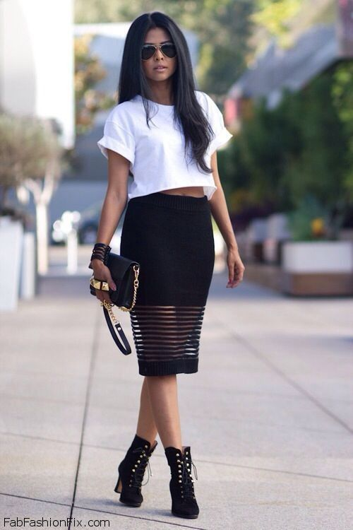 Style Guide: How to dress up and wear white T-shirt? | Fab Fashion Fix