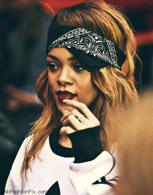 style watch how celebrities wear bandanas for street