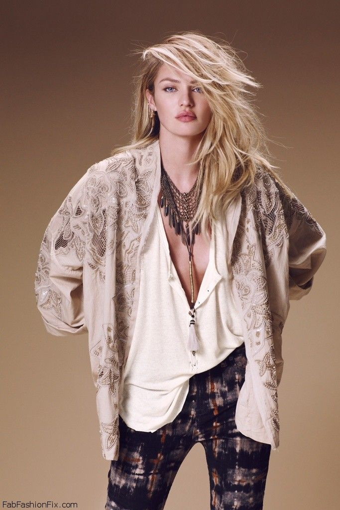 Candice Swanepoel Is Bohemian Chic For Free People 2014