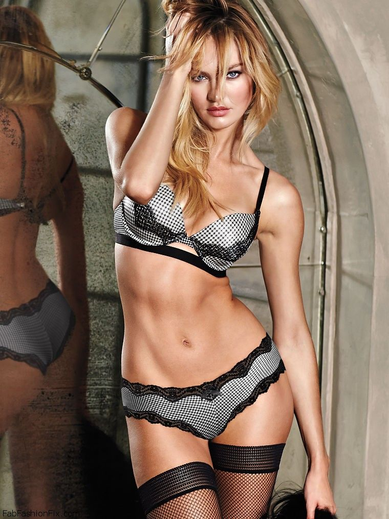 Something is. Victoria secret candice swanepoel sexy