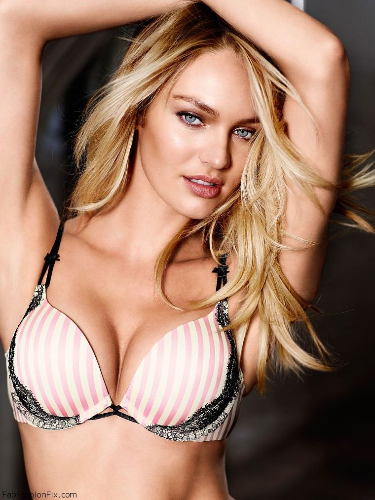 1ea5eaf131 Candice Swanepoel is sexy bombshell for Victoria s Secret lingerie ...