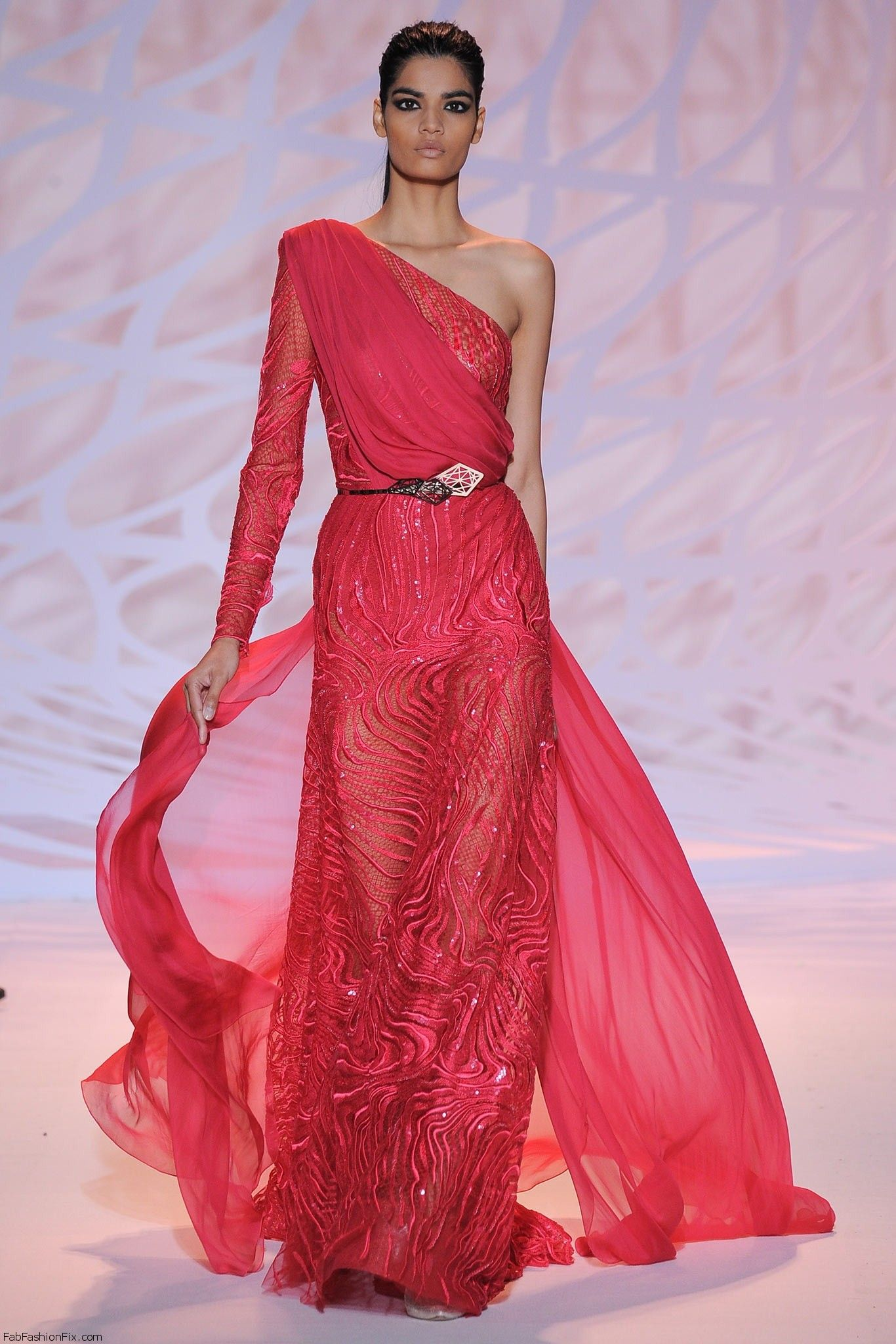 Zuhair murad haute couture fall 2014 collection fab for Designer haute couture dresses