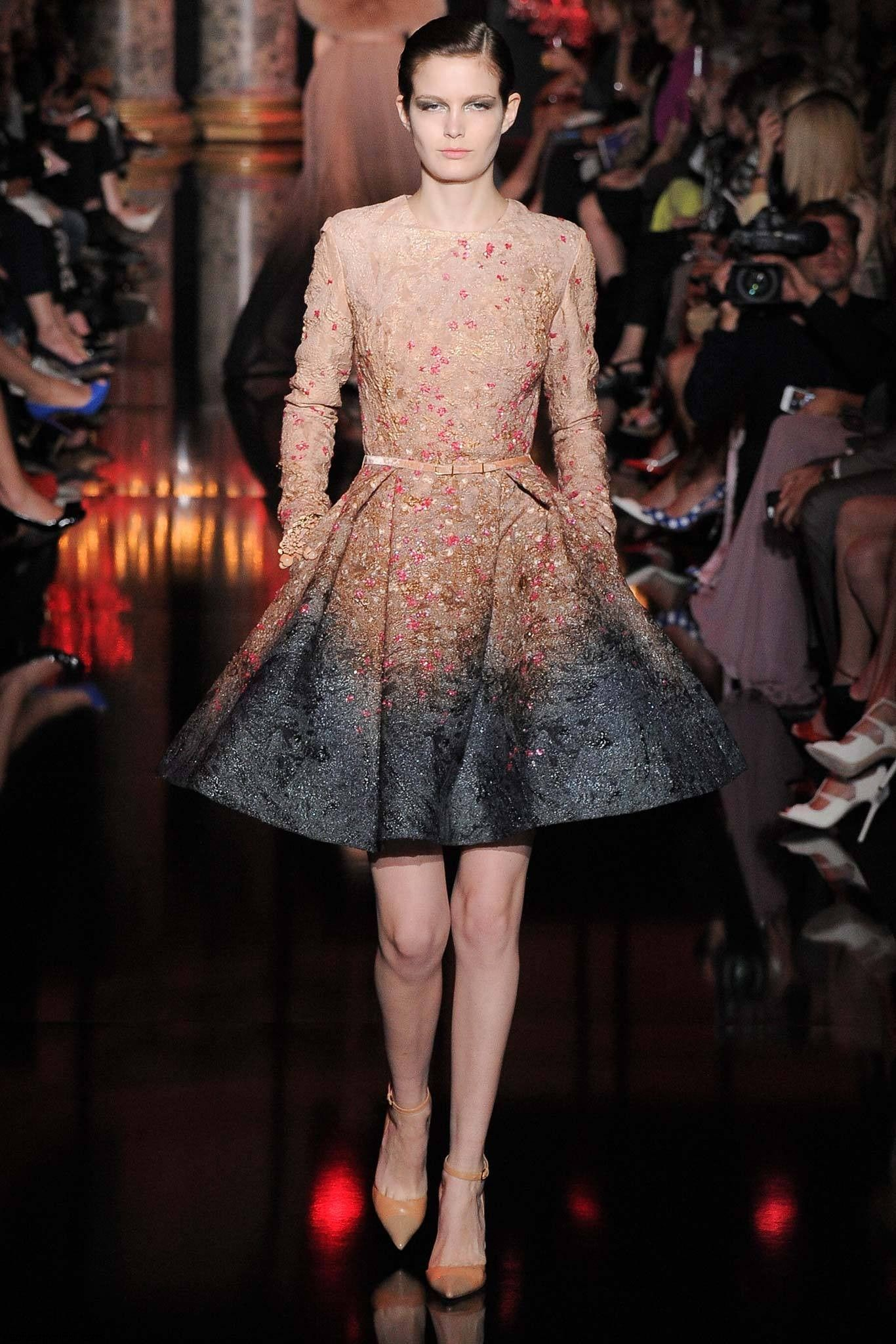 Elie Saab Haute Couture fall 2014 collection - Fab Fashion Fix